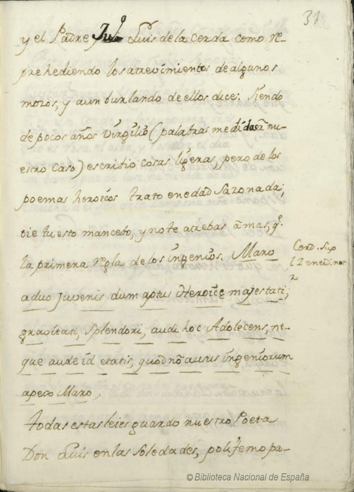 Fragmentos Del Compendio Poético Góngora